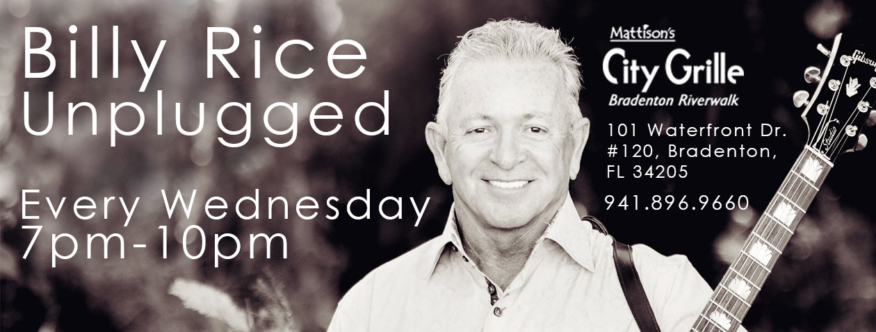billy rice unplugged website